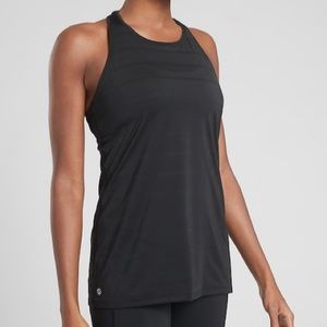 Athleta Double Stripe Chi Tank